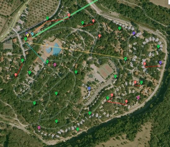 Photos de camping le bois fleurià Argeles sur mer 66700